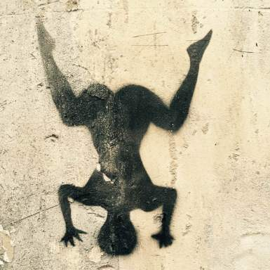 Street art Kapalasana, Cité Griset, 11e