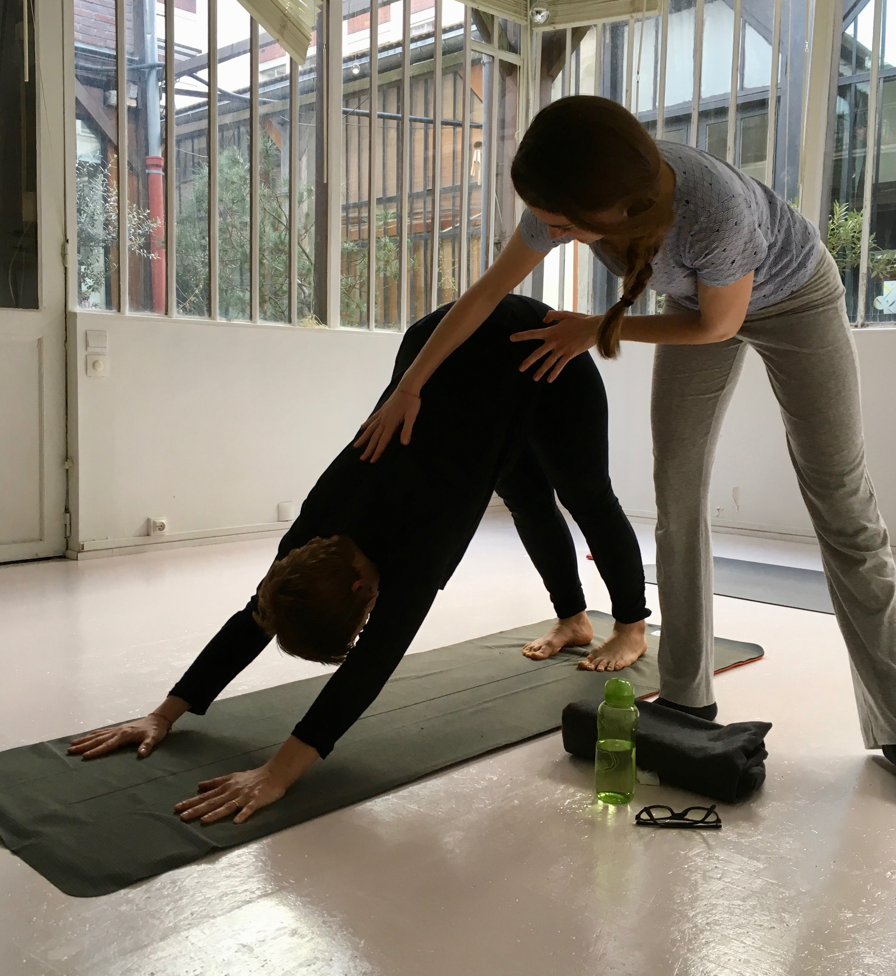 Yoga Lepori chez Mirz Yoga
